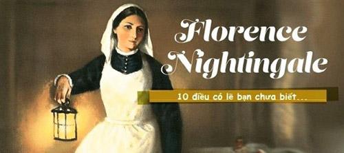 """Thương binh đã âu yếm đặt cho Florence Nightingale danh hiệu """"Nữ công tước với cây đèn"""""""