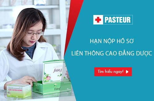 Trường Cao đẳng Y Dược Pasteur tuyển sinh Liên thông Cao đẳng Dược 2017