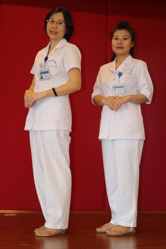 Trang phục dành cho bộ phận kế toán của Bệnh viện
