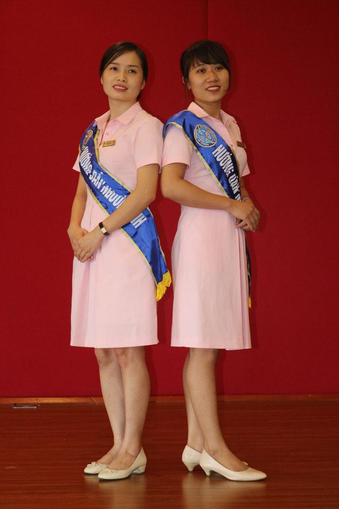 Trang phục dành cho nhân viên làm công tác xã hội của Bệnh viện